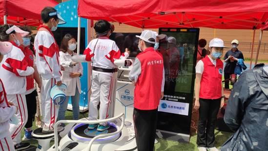 北京:防震減災科普宣傳走進通州區北京學校
