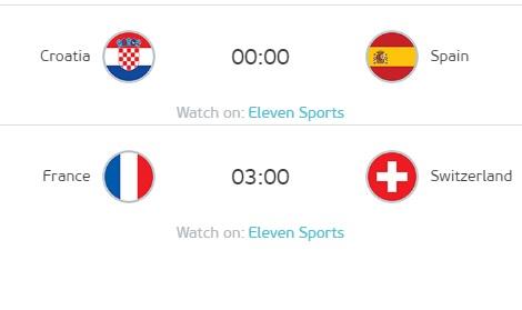 歐洲國家盃16強淘汰賽進入到第三天的賽程。圖:UEFA