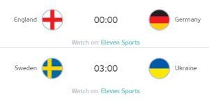 歐洲國家盃16強淘汰賽進入到第四日的賽程。圖:UEFA