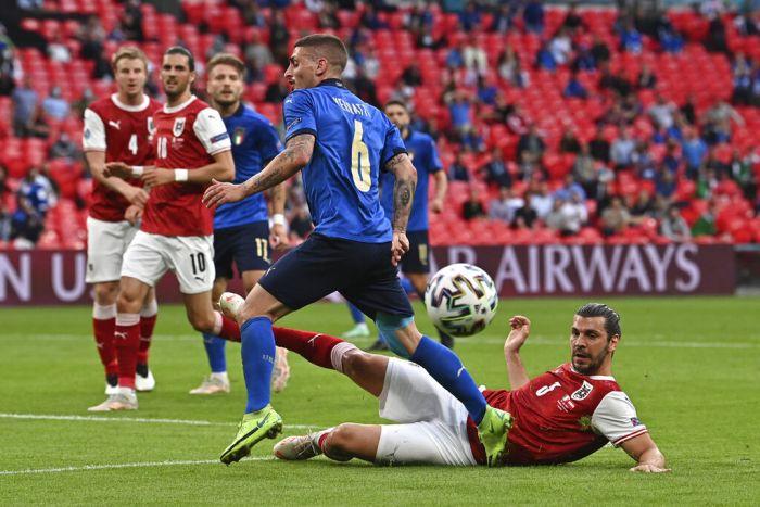 【2020歐洲國家盃玩運彩討論】2020歐洲國家盃十六強-義大利2-1奧地利-以父之名,基耶薩 – 歐洲國家盃2020線上直播