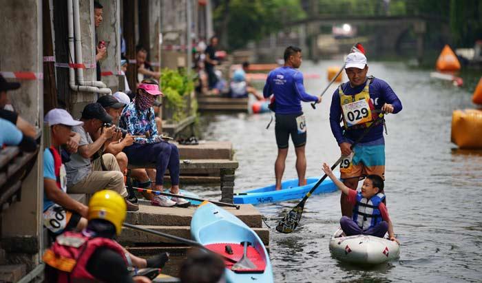 2021南潯古鎮槳板文化節暨第三屆南潯古鎮槳板公開賽圓滿完賽