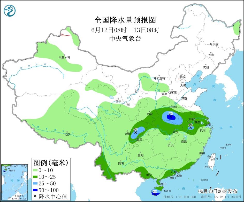 【玩運彩賺錢彩幣換現金】 西南地區長江中下游有降雨 東北地區仍有較強降雨 _玩運彩討論區朋友圈