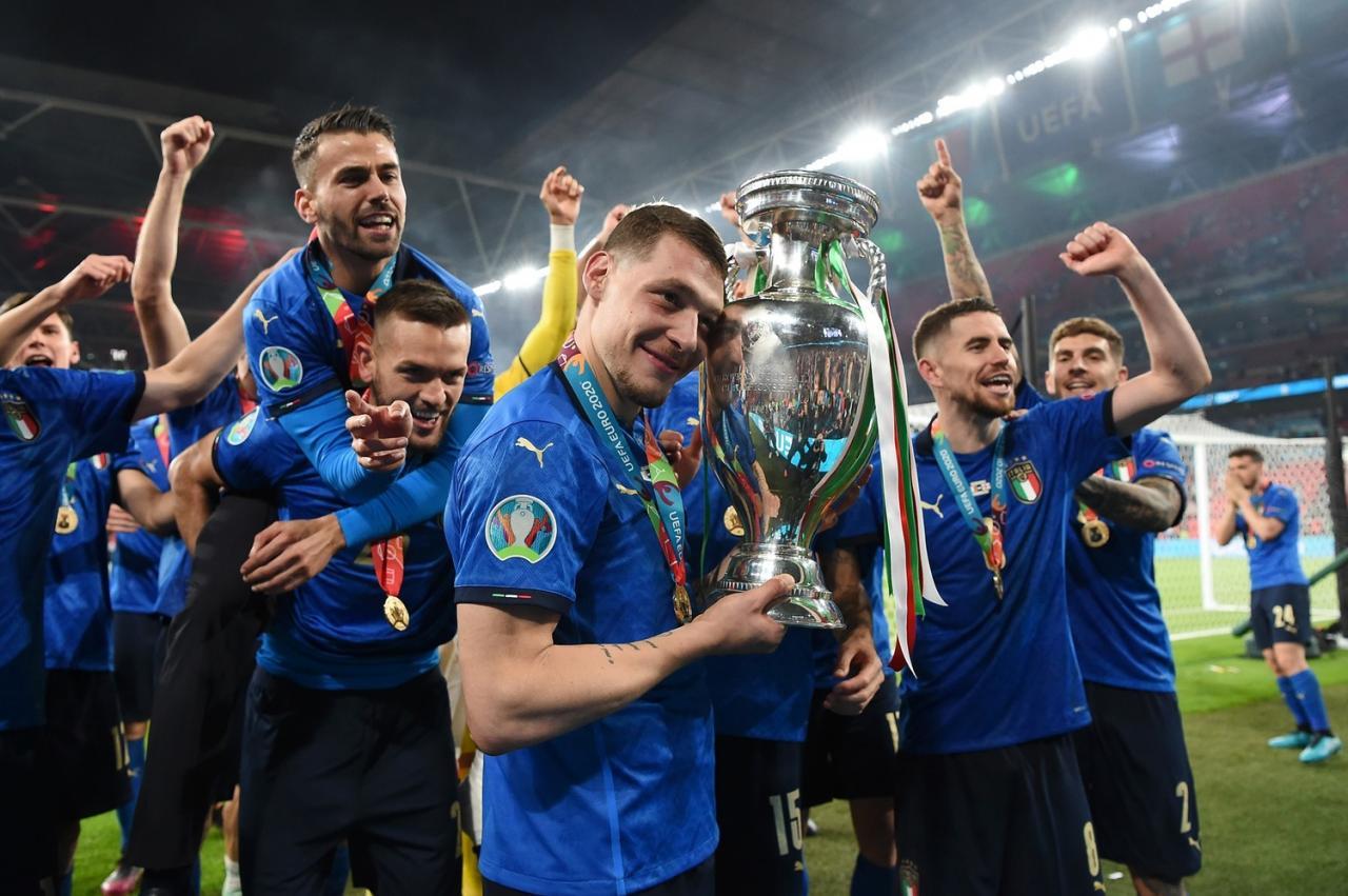 義大利拿下歐國盃冠軍圖:擷取自facebook.com/EURO2020