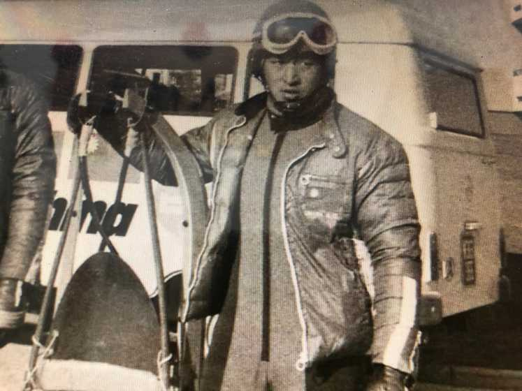 黃柳宗當年挑戰奧運賽事中的單人雪橇及雙人雪橇等項目。(圖/讀者提供)